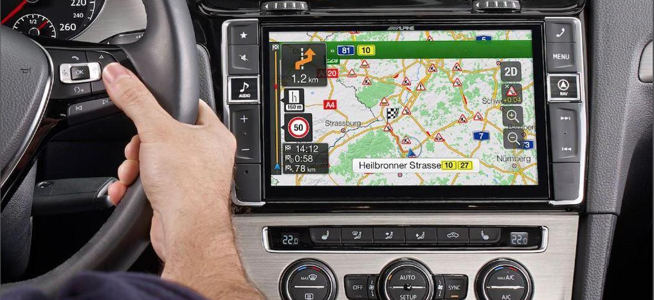 Autoradio GPS avec caméra de recul : instructions pour l'installation